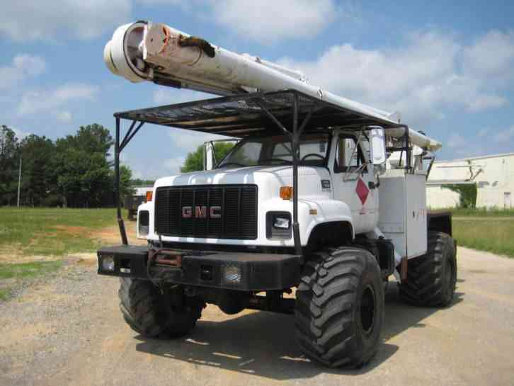 GMC 7500 4X4 (1998) : Bucket / Boom Trucks