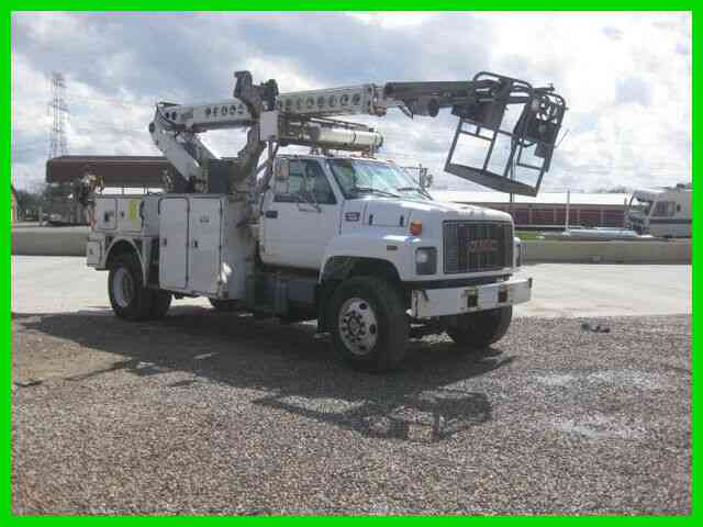 GMC C7500 3126 CAT ALLISON WITH TELSTA T40C CABLE PLACER (1998)