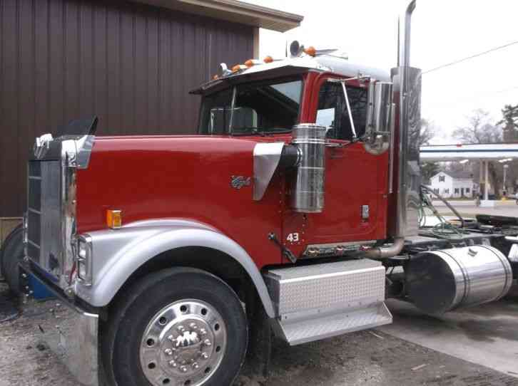 International 9300 1998 Daycab Semi Trucks