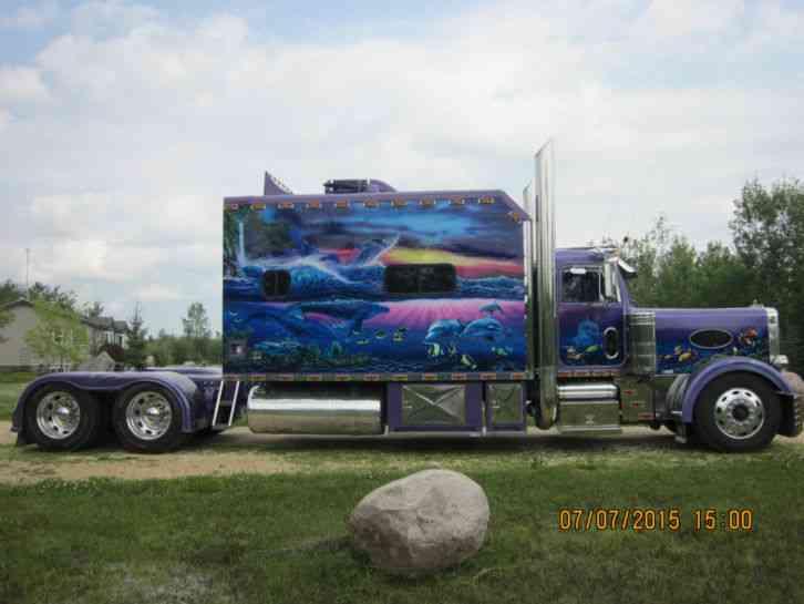Peterbilt 379L (1998) : Sleeper Semi Trucks
