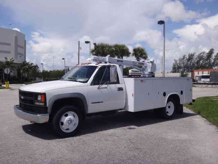 Chevrolet C 3500 HD Crane Service Body (1999)