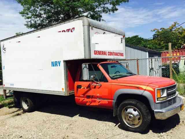 GMC CUTAWAY 16 FT BOX TK (2007) : Van / Box Trucks