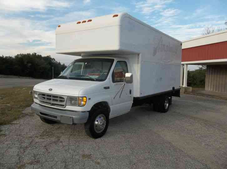 ford e350 super duty 1999 van box trucks. Black Bedroom Furniture Sets. Home Design Ideas