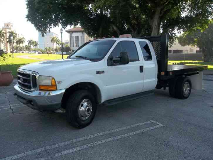 Ford F350 Xcab 7 3 Diesel Flatbed 5th Wheel 4x4 Florida