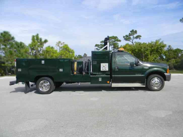 Ford F550 Superduty 1999 Utility Service Trucks