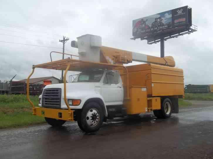 Teco Bucket Truck Service Manual