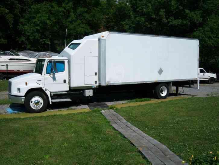 Freightliner Fl70 1999 Van Box Trucks