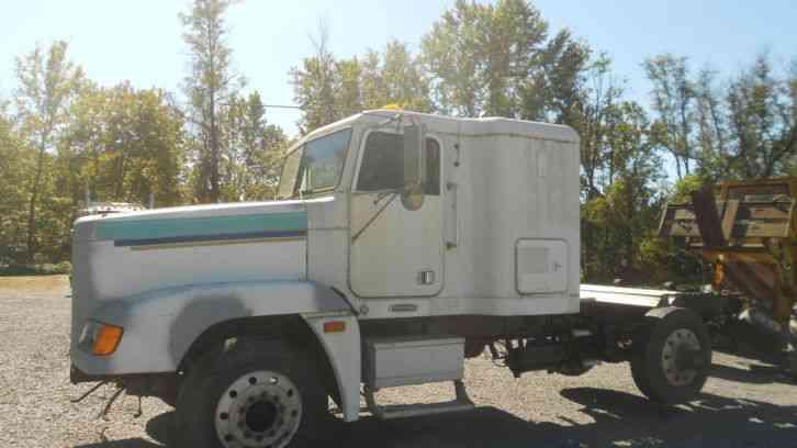 Freightliner Fld120 Hood : Freightliner fld  sleeper semi trucks