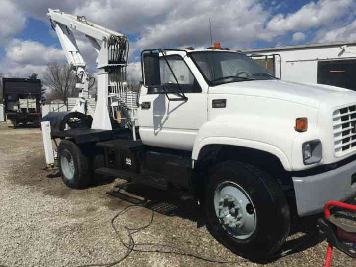 Gmc 7h4 1999 Bucket Boom Trucks