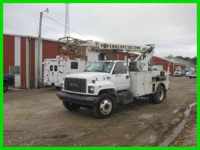 GMC C7500 CAT AUTO WITH ALTEC T40C CABLE PLACER (1999)