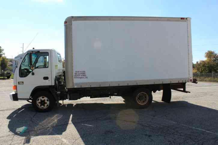 Gmc Isuzu Npr W Box Truck L Diesel Cold Ac on Good Looking Truck Drivers