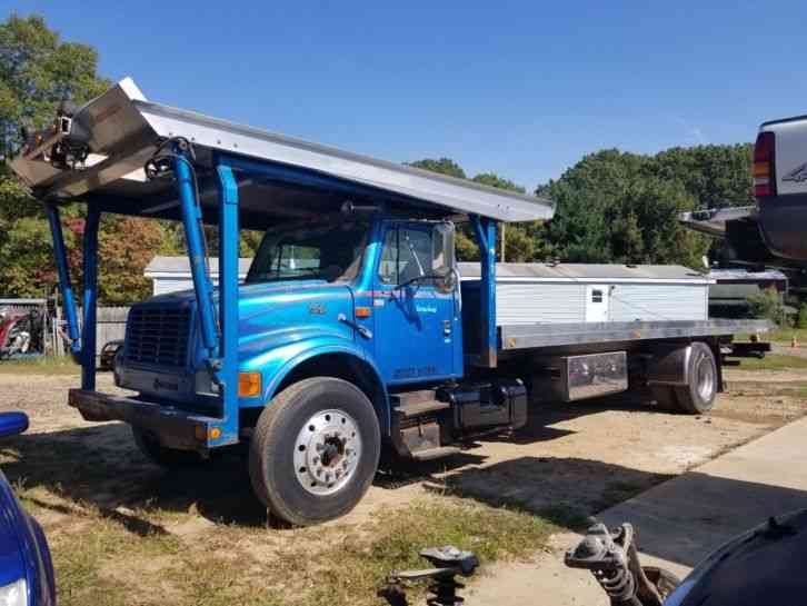 utleasing as well Flatbed Truck Side Mount Tool Box also Flat Deck Bumper Pull moreover 1999 International 4900 Car 80871 further Craigslist Oil Field Winch Truck. on semi truck flat beds
