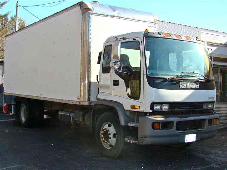 Isuzu Ftr  1999    Van    Box Trucks