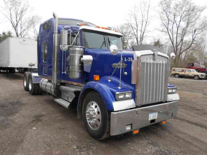 Kenworth W900l 1999 Sleeper Semi Trucks