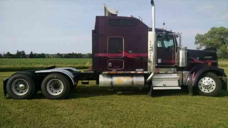 Old Pickups For Sale >> Kenworth W900L (1999) : Sleeper Semi Trucks