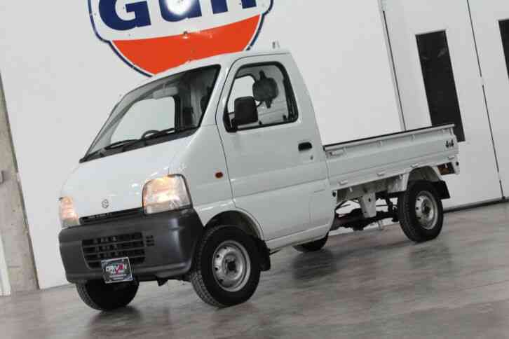 Suzuki Carry 4x4 Mini Truck (1999)
