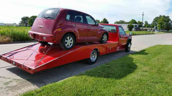 Chevy Hd Car Hauler Tow Truck Wedge Bed Rollback