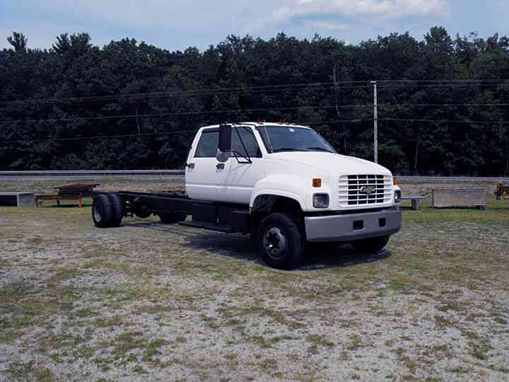 Chevy C Series Kodiak Crew Cab C C Gvw on 6500 Chevy Kodiak Trucks Specs
