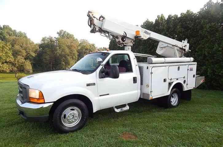 Ford F 350 2000 Bucket Boom Trucks