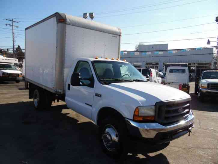 Ford F 450 12ft Box Straight Truck 7 3 Diesel 6 Speed