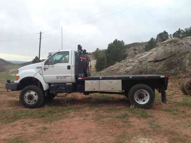 Ford 4x4 Van For Sale >> Ford F-750 (2000) : Heavy Duty Trucks