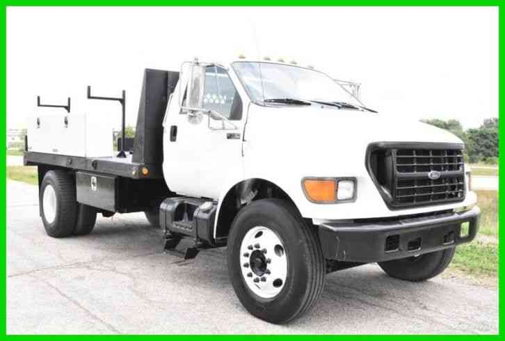 Ford F-750 Chassis (2000) : Utility / Service Trucks