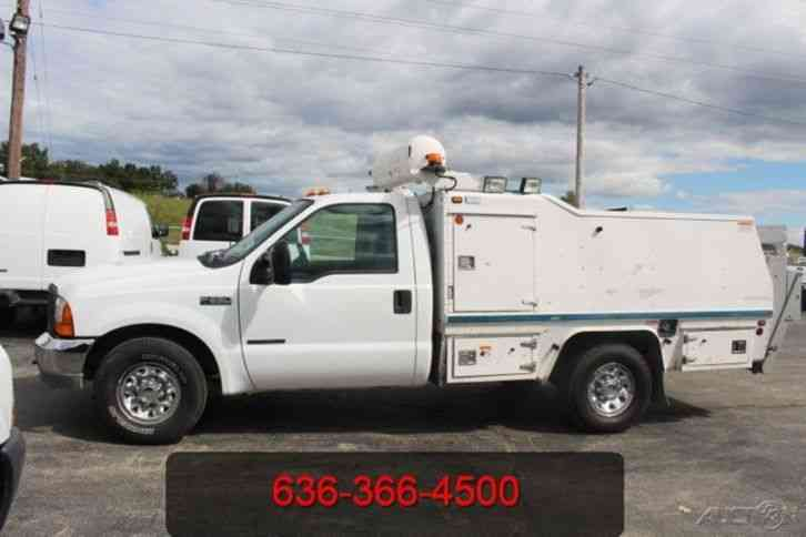 Used Service Trucks For Sale >> Ford F350 2000 Utility Service Trucks
