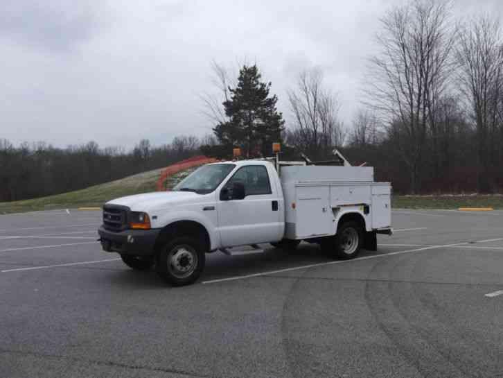 ford f450 xl super duty triton v10 2000 bucket boom trucks. Black Bedroom Furniture Sets. Home Design Ideas