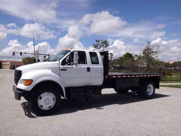 ford  super duty flatbed  medium trucks