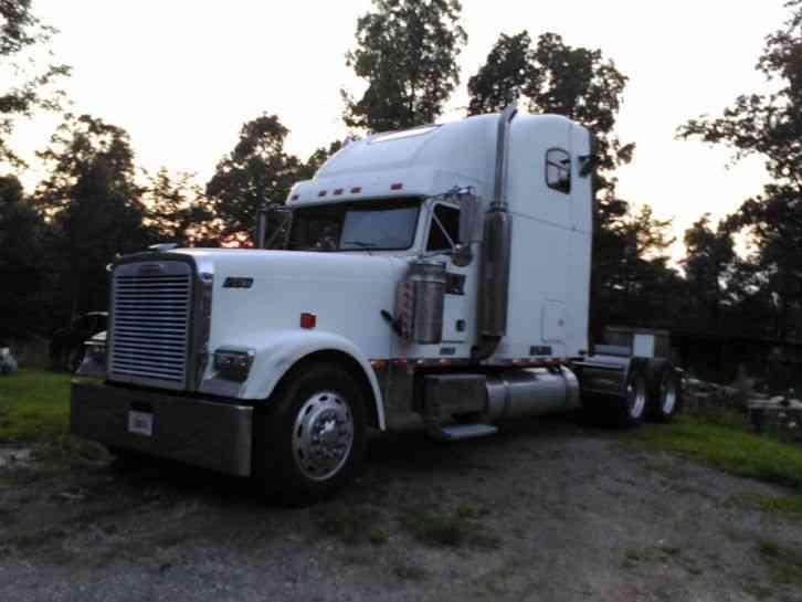 Peterbilt 379 classic 2007 sleeper semi trucks
