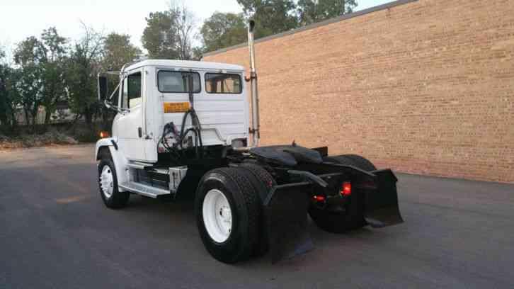 Single Axle Semi Tractors : Freightliner fl  daycab semi trucks