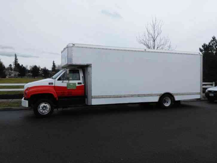 Isuzu Npr For Sale Craigslist >> GMC (2000) : Van / Box Trucks