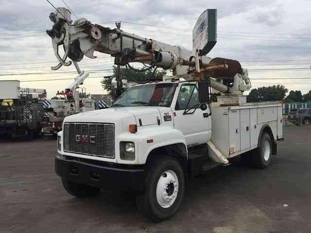 Gmc 7500 Digger Derrick Boom Crane Cat Diesel 2000