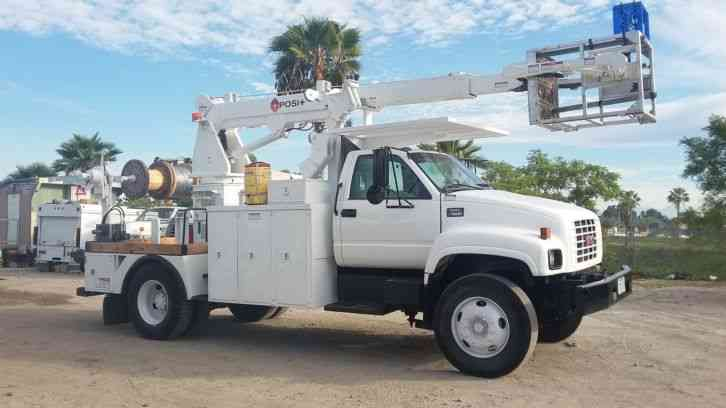 Posi Plus Cable Puller : Gmc c bucket boom trucks