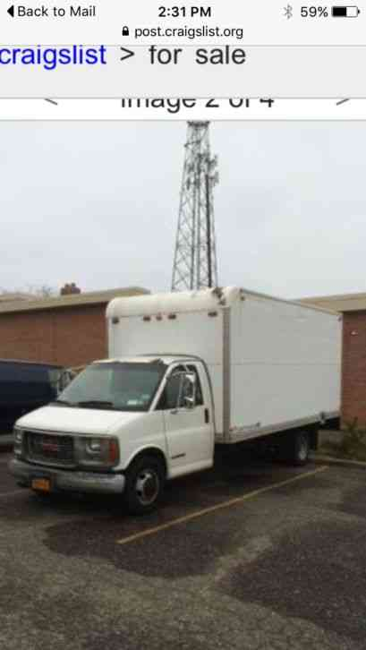 Gmc 3500 Series 2000 Van Box Trucks