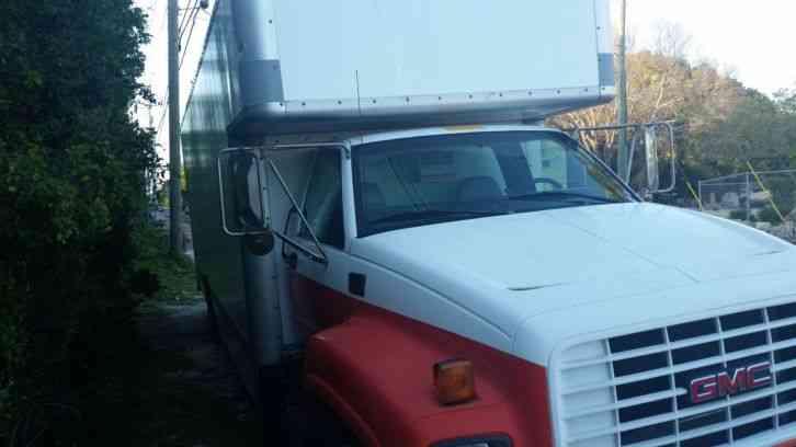 gmc c6000 2000 van box trucks. Black Bedroom Furniture Sets. Home Design Ideas