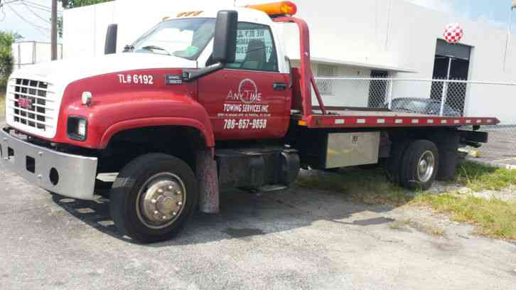 Gmc c6500 2000 utility service trucks for Used tow motors for sale