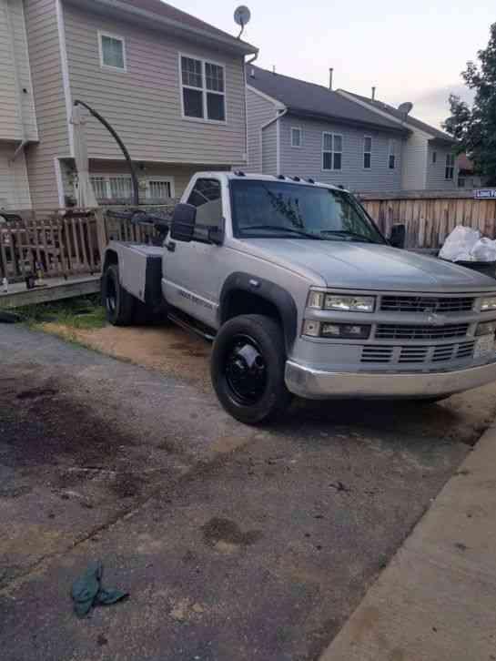 Gmc 3500hd Tow Truck Wrecker Repo Self Loader 2000 Wreckers
