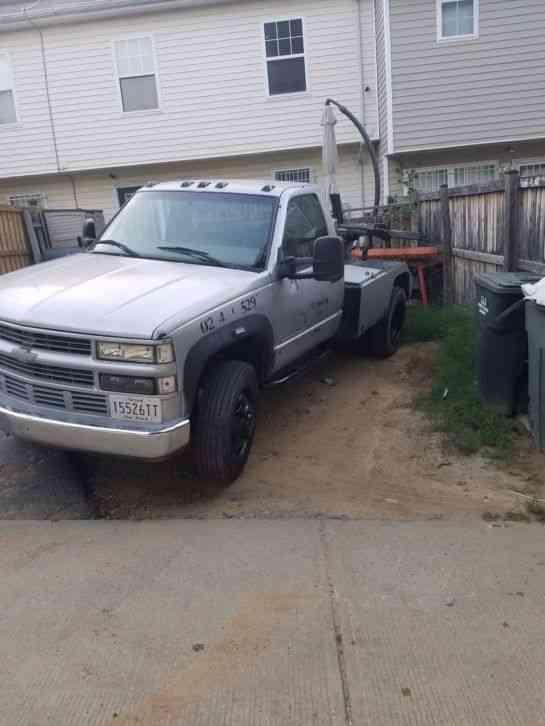 Gmc 3500hd Tow Truck Wrecker Repo Self Loader 2000