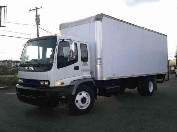 isuzu ftr (2000) : van / box trucks