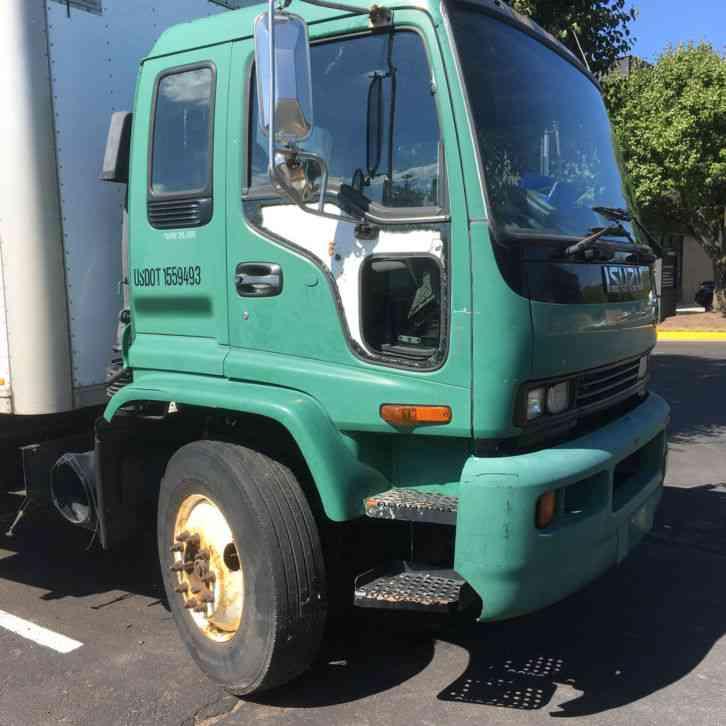 Isuzu FTR 51 185K Box Truck W/ Lift Gate (2000) : Van