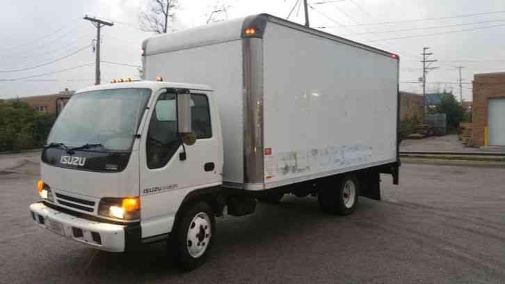 isuzu npr nqr w4500 w3500 (2000) : van / box trucks