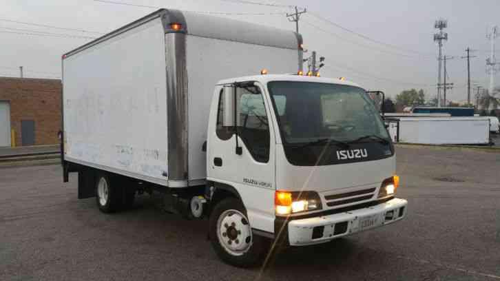 Isuzu Npr Nqr W4500 W3500  2000    Van    Box Trucks