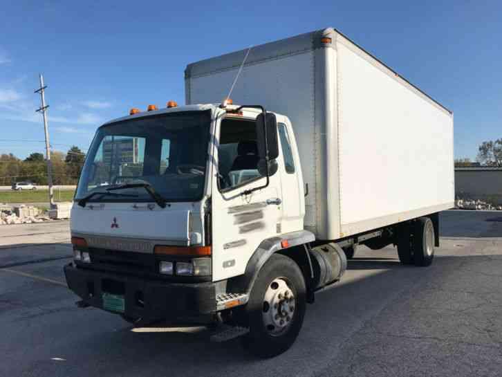 mitsubishi fuso fm617  2000    van    box trucks