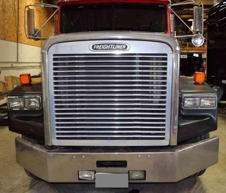 freightliner fld120 2000 sleeper semi trucks. Black Bedroom Furniture Sets. Home Design Ideas