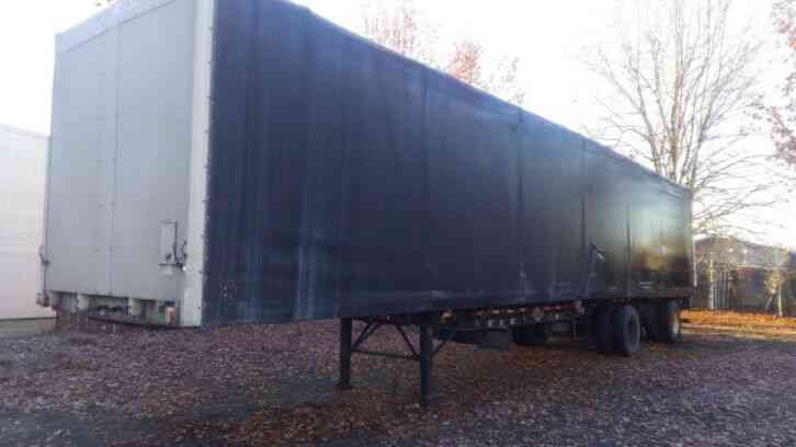 WILSON 48' CURTAIN VAN SEMI TRAILER (2000)