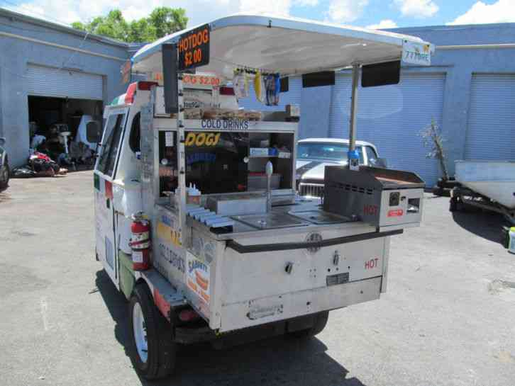 Cushman Truckster Hot Dog Cart Mobile Food Vending Concession One Of A Kind (2001) : Commercial ...