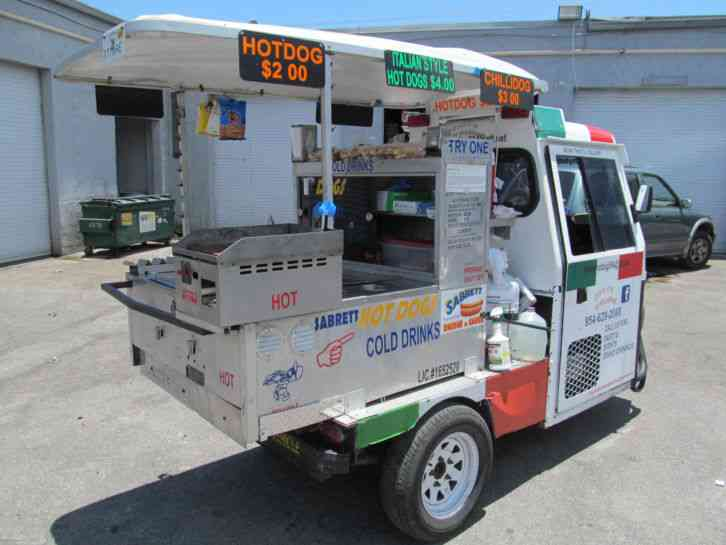 Cushman Truckster Hot Dog Cart Mobile Food Vending