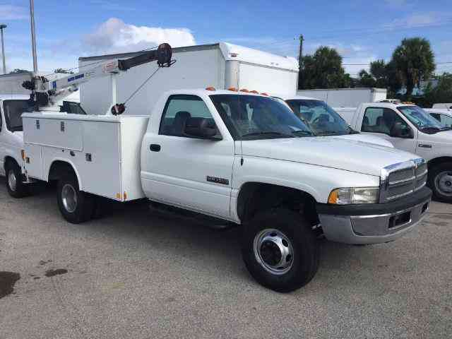 Kia Finance Bad Credit >> Dodge Ram 3500 (2001) : Utility / Service Trucks