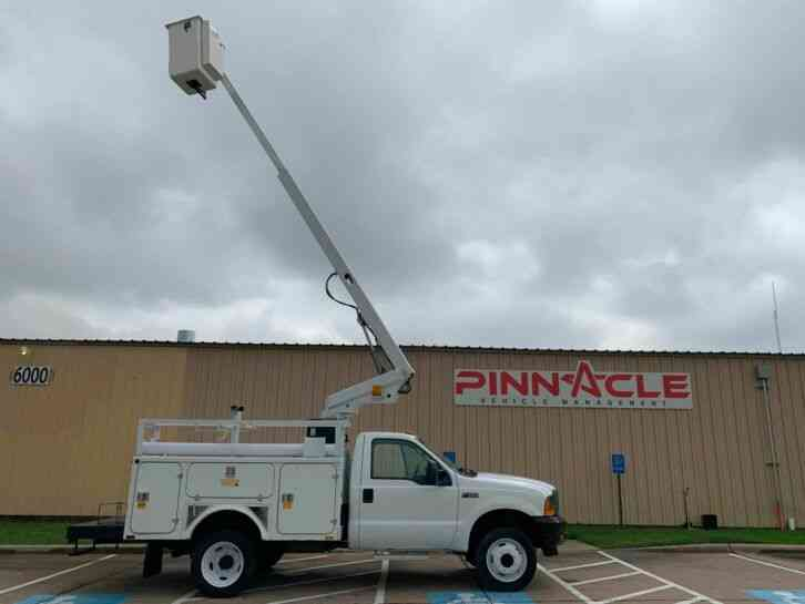 Ford Super Duty F-450 7. 3 TELSTA BUCKET TRUCK (2001)